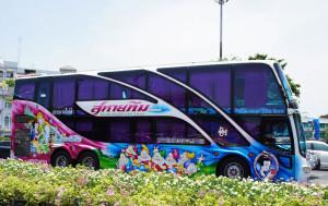 Anreise mit dem Bus nach Koh Tao