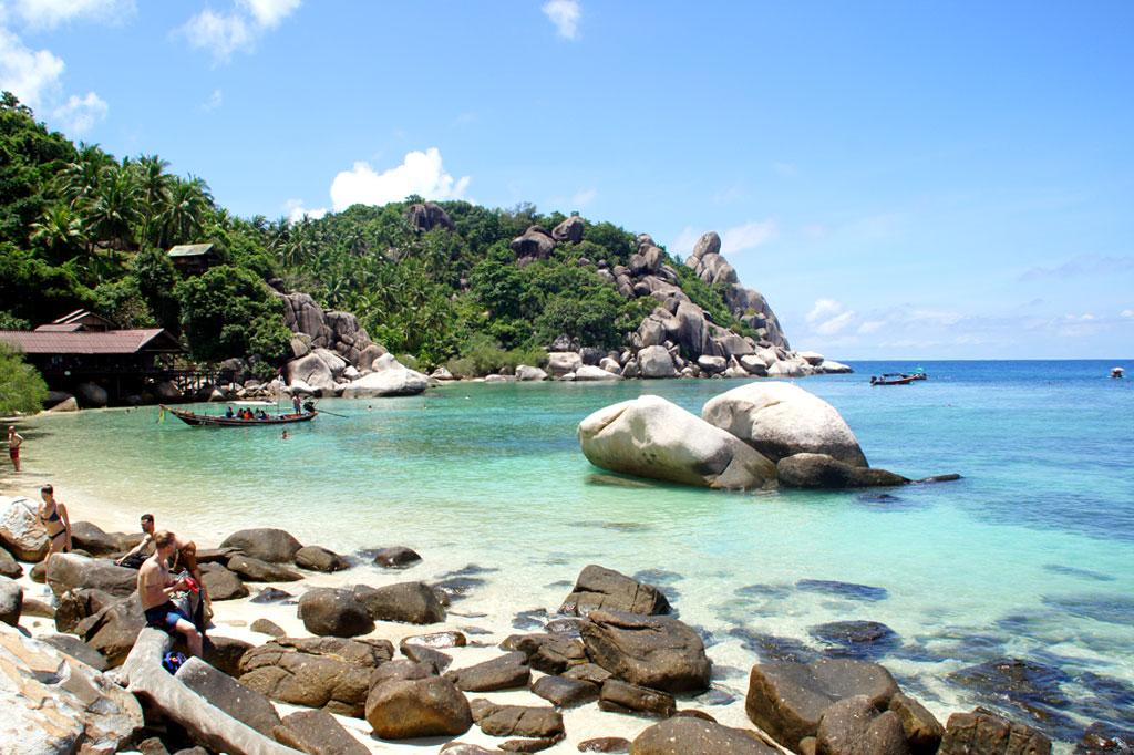 Strande Auf Koh Tao Unsere Empfehlungen Karte