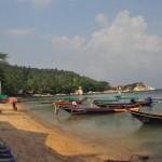 Hafen in Mae Haad